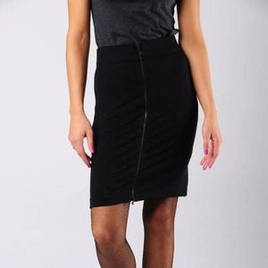 NWT Theory Ansena Pencil Zip Skirt Sz 6
